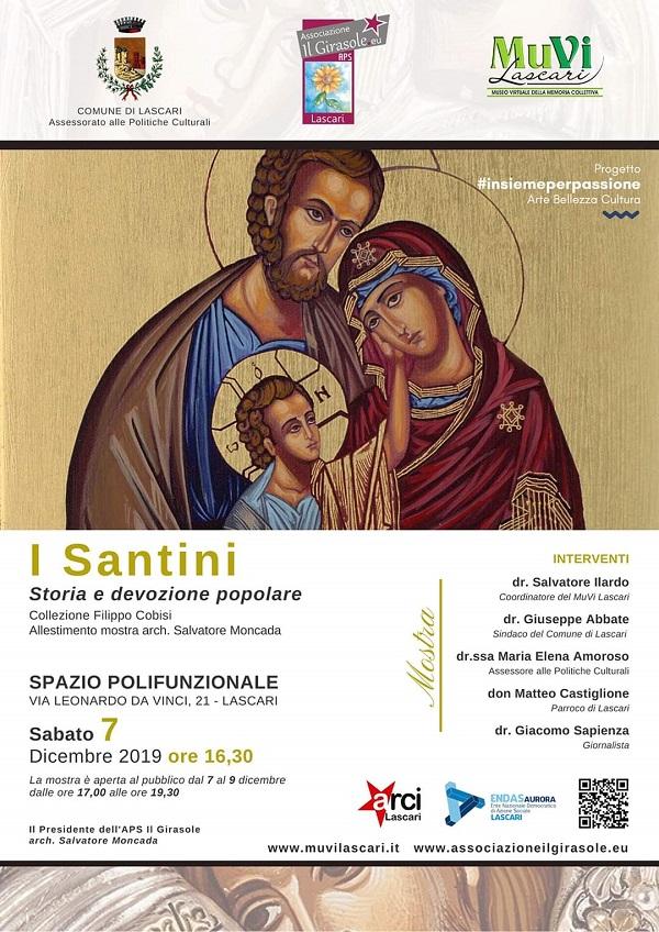 Santini in mostra a Lascari