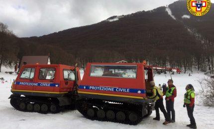 A Piano Battaglia primi due interventi del Soccorso Alpino