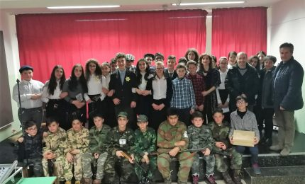Petralia Soprana: i ragazzi dell'I.C. hanno ricordato la Shoah attraverso il diario di Anna Frank