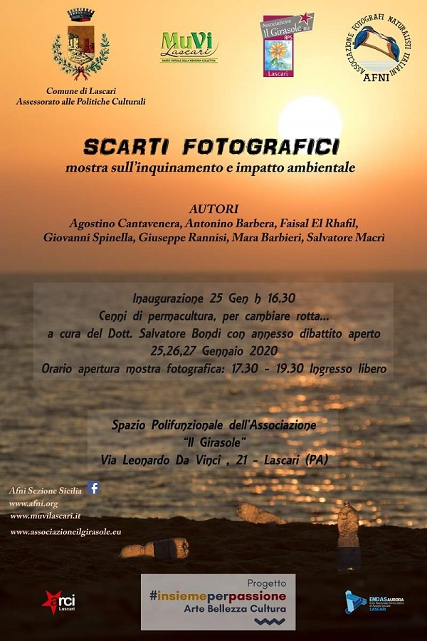 """""""Scarti fotografici"""" in mostra a Lascari"""