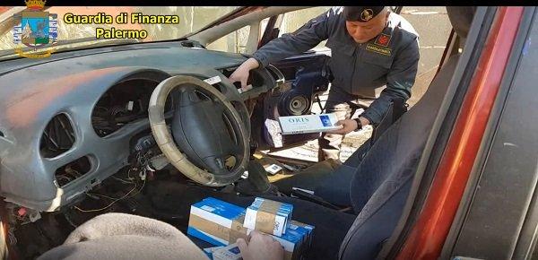 Al porto di Palermo sequestrate sigarette di contrabbando