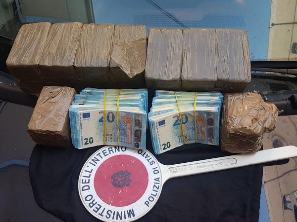 Palermo: sequestrato grosso quantitativo di droga