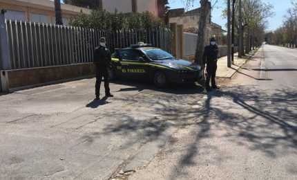 Covid19 Casteldaccia, Gdf chiude agenzia immobiliare che non rispettava i divieti