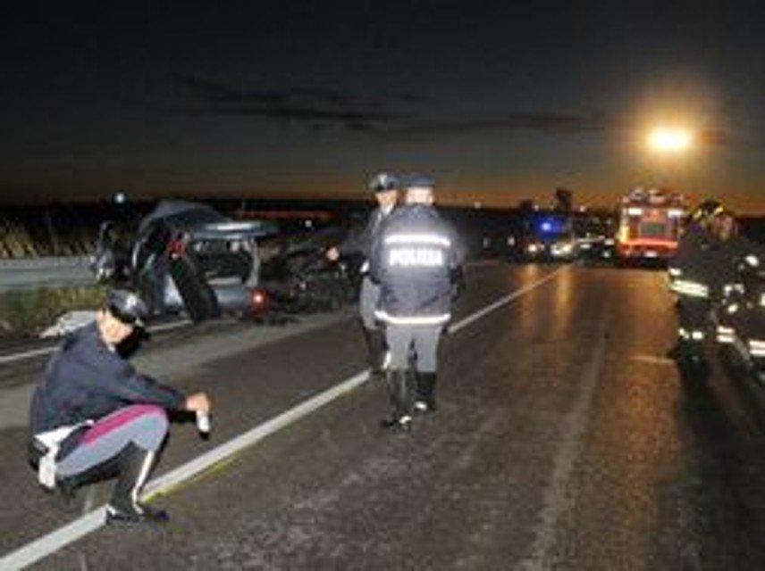 Incidente mortale sulla A19 in prossimità dello svincolo di Casteldaccia
