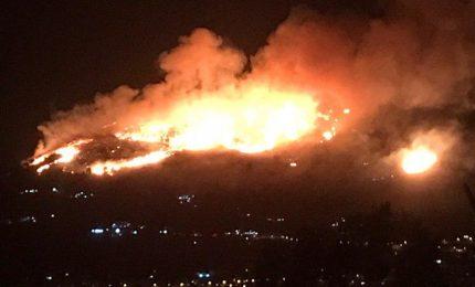 Scirocco e temperature record, Sicilia in fiamme: roghi anche nel comprensorio madonita
