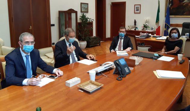 Trasporti e infrastrutture: Musumeci incontra ministri De Micheli e Provenzano