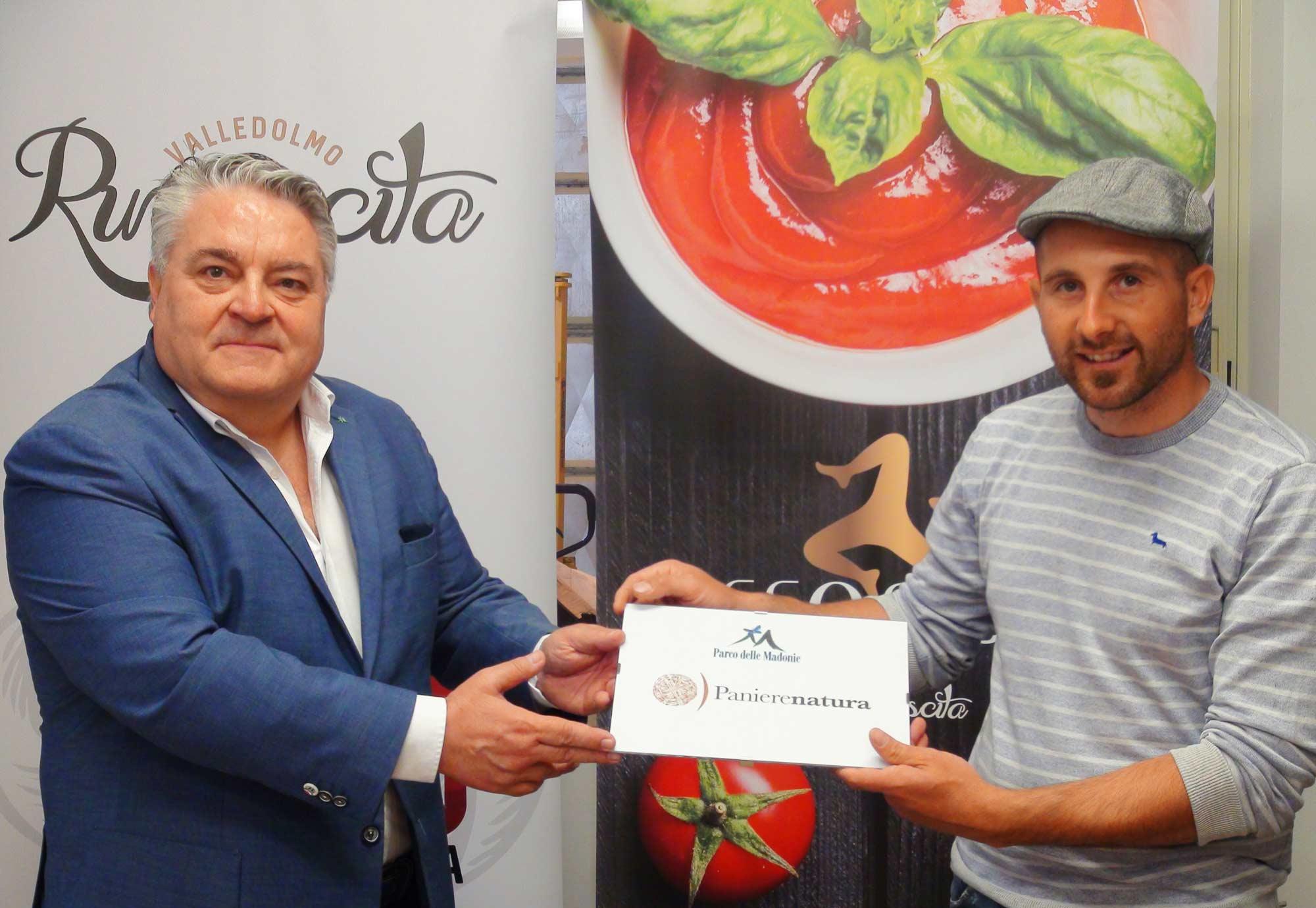 """Il Parco delle Madonie conferisce il marchio di qualità alla cooperativa """"Rinascita"""" di Valledolmo"""
