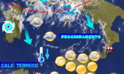Meteo Cefalù e Madonie: venti di maestrale, temporali e caldo in ritirata