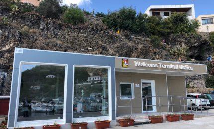 Cordaro inaugura la stazione marittima di Ustica realizzata dalla Regione