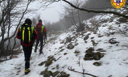 Escursionisti dispersi a Pizzo Carbonara: recuperati dal soccorso alpino