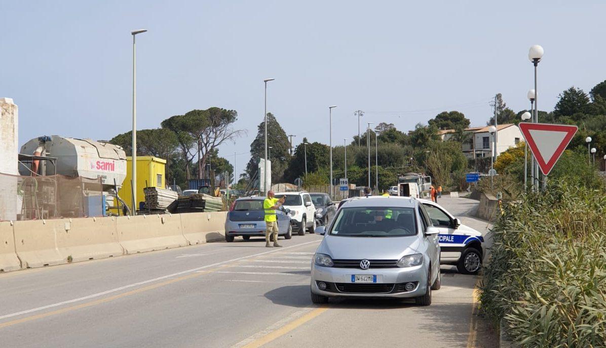 Cefalù, interruzione SS 113 zona Ogliastrillo: si va verso la riapertura